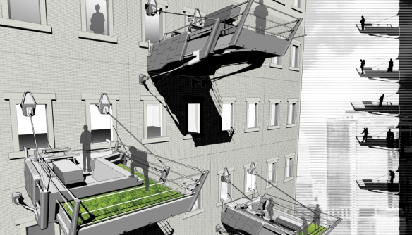 Innovative Balcony Design 1