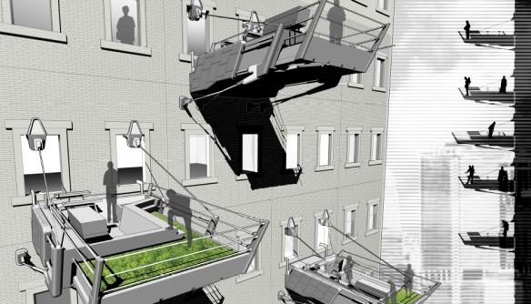 Innovative Balcony Design 1